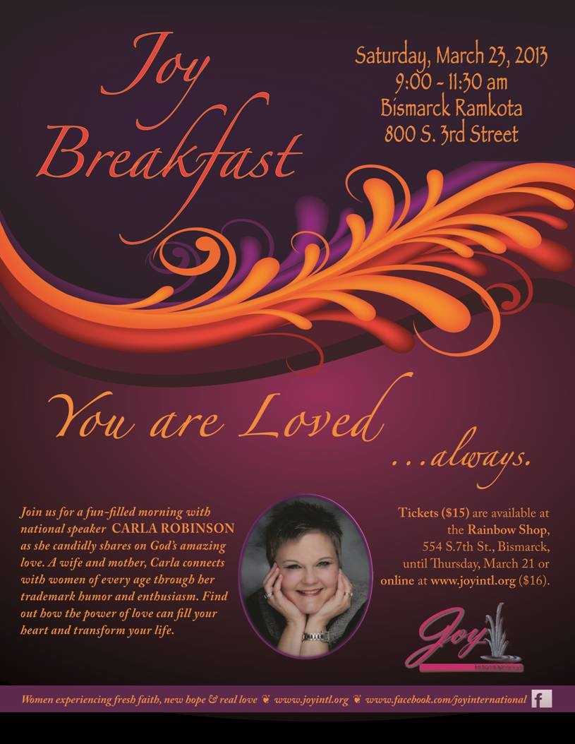 Spring JOY Breakfast 2013 Poster