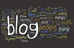 Blogging Research Wordle by Kristina B on Flickr